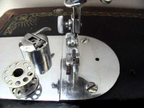 How To Set The Needle In A Vintage Sewing Machine YouTube Gorgeous Treadle Sewing Machine Needles