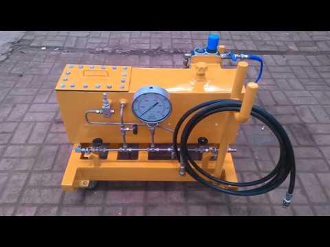 Hydrotest unit 5k - 30k PSI