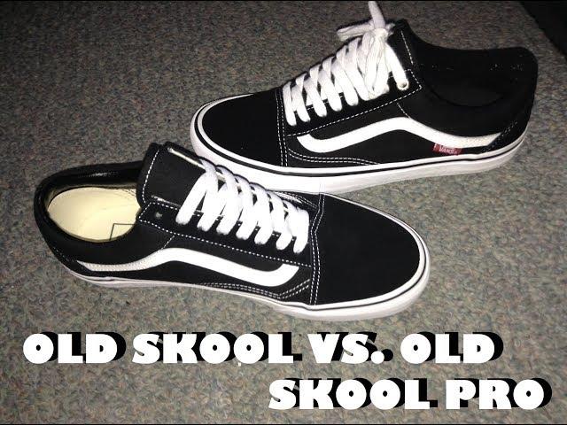 vans ward suede canvas vs old skool