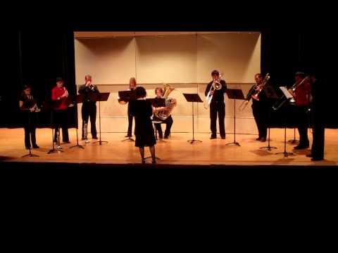 Katie Lawrence Senior Recital - Three Brass Cats - Mansfield University Brass Ensemble 11-20-10