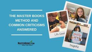 The Master Books Homeschool Method and Common Criticisms Answered // Randy Pratt