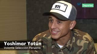 Yoshimar Yotún: entrevista exclusiva con Pedro García | Movistar Deportes