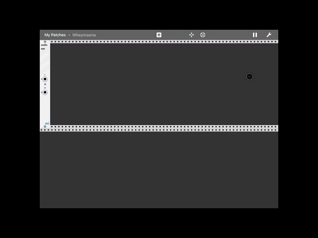 miRack - Tutorial: creating a patch from scratch Part 1