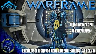 Warframe: Update 17.9 Overview: Cerata & Limited Day of the Dead Skins