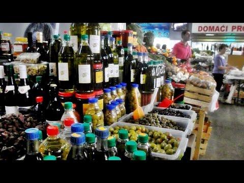 Рынок в Будве Цены 2016 Черногория (The market in Budva Montenegro)