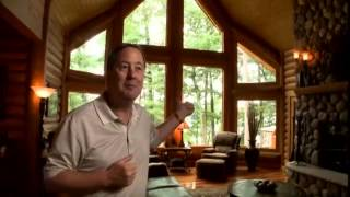 The Shorewood Lodge Log Home Video