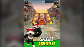 Cartoon Panda Run (Official Trailer) - Android & IOS Panda Racing Game