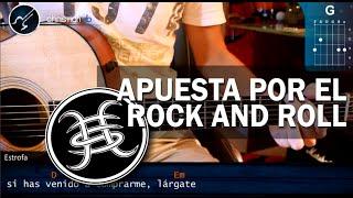 """Cómo tocar """"Apuesta por el Rock and Roll"""" de Heroes del Silencio en guitarra (HD) - christianvib"""