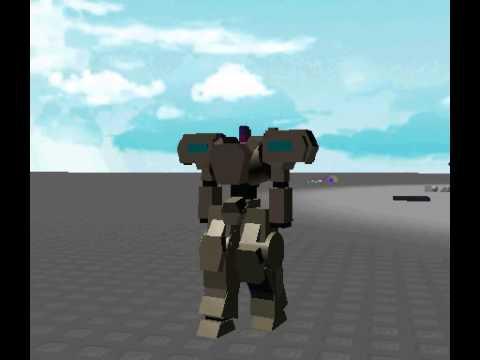 Roblox Mecha Walking Animation - YouTube