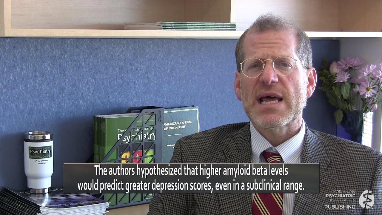 Ongebruikt Longitudinal Association of Amyloid Beta and Anxious-Depressive HC-56