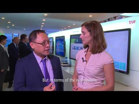 MWC Interview Thailand TRUE Operator CTO
