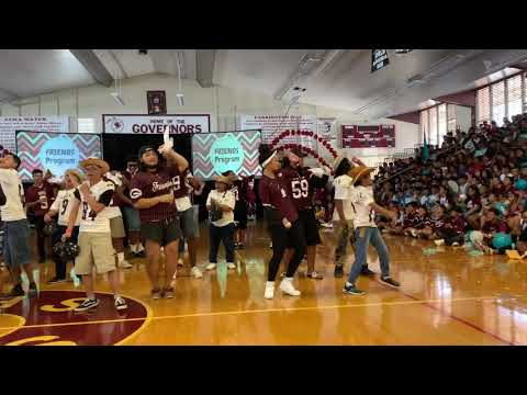 """Farrington High School's Friends Program took on the """"Git Up"""" Challenge to promote inclusion!!"""