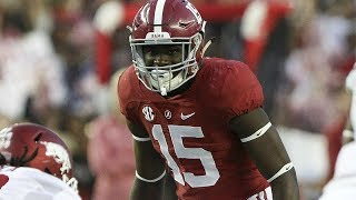 Ronnie Harrison (Alabama S) vs Clemson 2016