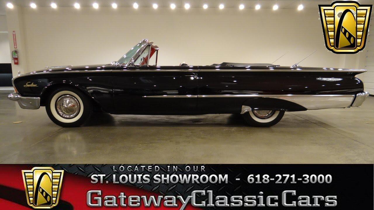 1960 Ford Sunliner - Gateway Classic Car St  Louis - #6272