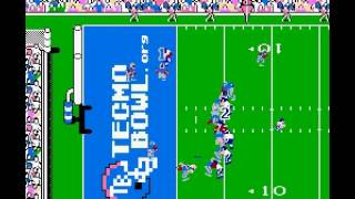 Tecmo Super Bowl 2015 (tecmobowl.org hack) - Season week 1 game - User video