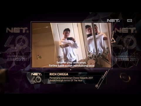 Breakthrough Artist of the Year - Indonesian Choice Awards 2017: Rich Chigga