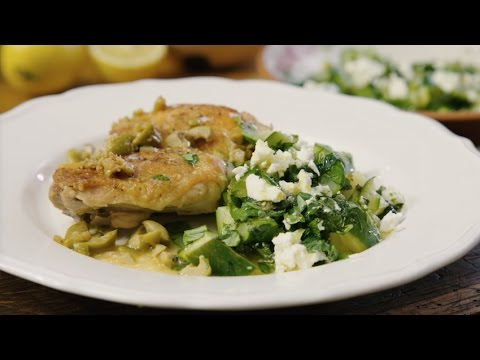 Thomasina Miers cooks crispy chicken thighs