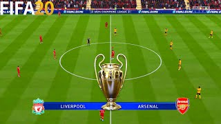 FIFA 20 | Liverpool vs Arsenal - UEFA Champions League UCL - Full Match & Gameplay