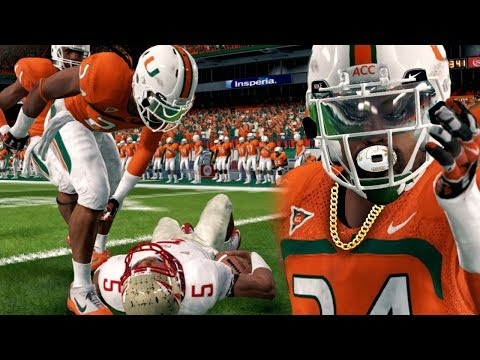 KNOCKING OUT JAMEIS WINSTON IN #1 VS #3 RIVALRY! NCAA 14 Road to Glory Gameplay Ep. 48