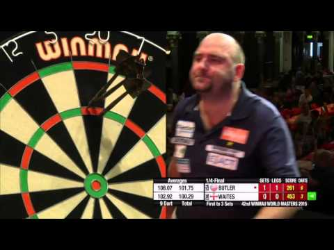 Darts Wold Masters 2015 Quarter Final Waites vs Butler