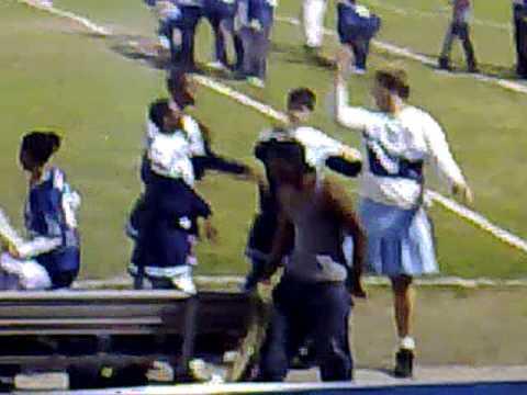 Truman High School boy cheerleaders  08-09