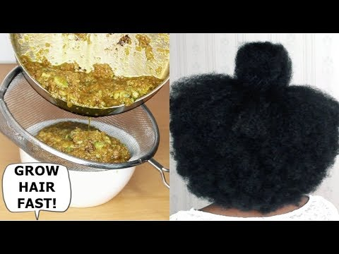 YOUR HAIR WILL GROW LIKE CRAZY- GROW HAIR Long, Thick & Healthy FAST!