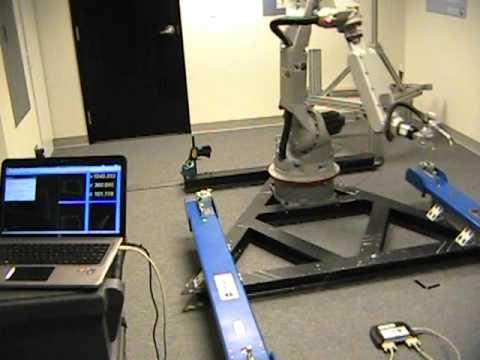 Dynalog's 3D CompuGauge Measures Robot Accuracy | FunnyCat TV