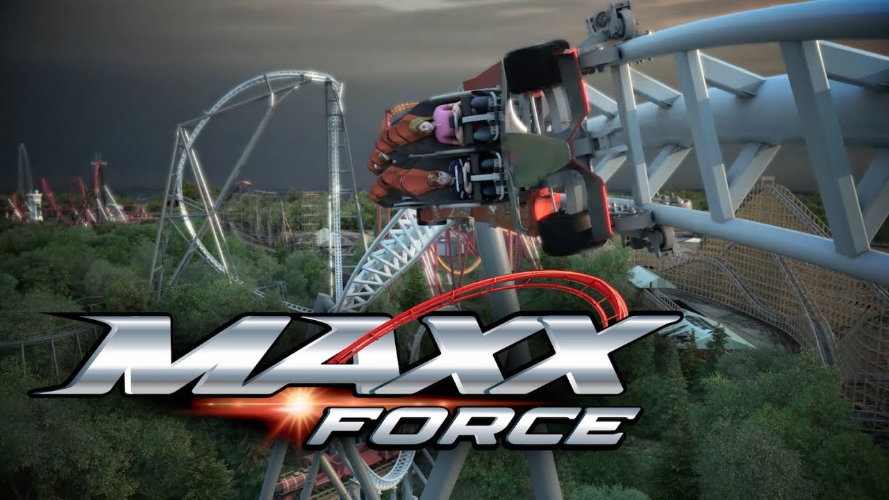 Maxx Force - Six Flags Great America New for 2019 Launch Coaster