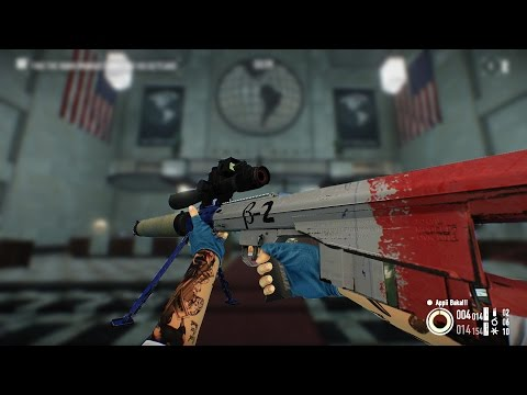 PAYDAY 2 Sydney First world bank solo stealth Thanatos .50 cal