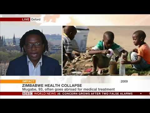 Zimbabwe's Public Health Crisis (BBC) - Simukai Chigudu