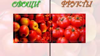Фрукты - Овощи.Развивающие мультики для детей.