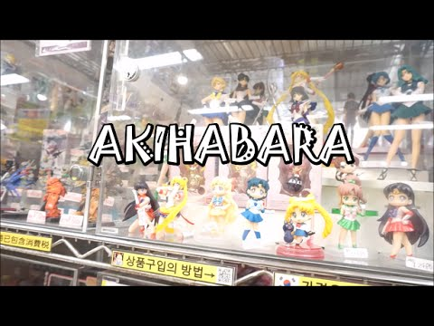 ~AKIHABARA~ Anime figurines, arcades and Johnny's idols ♡ (Vlog #4)