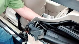 BMW Z4 E85 Cómo desmontar la capota / Fuga en pistón hidráulico