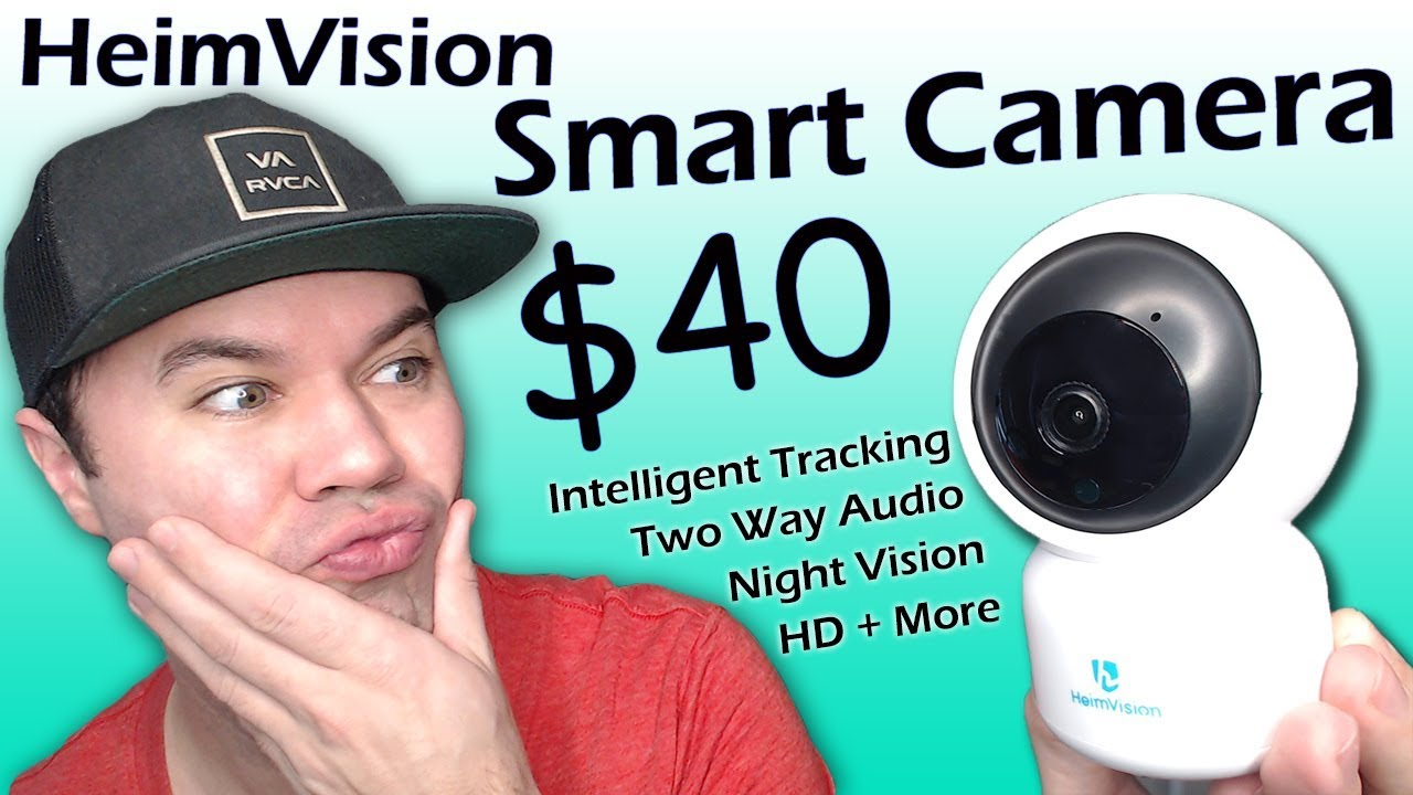 Best Smart Camera for the Price? HeimVision HM203 HD Smart WiFi Camera  Review