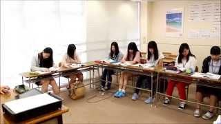 アジア言語科  【韓国語授業】AIR国際外語・観光・エアライン専門学校