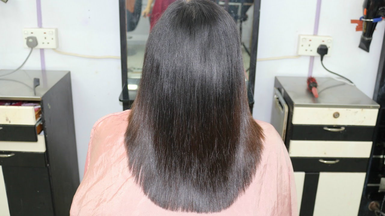 u shape layer cut / indra gurung - youtube