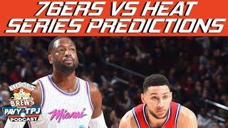 76ers vs Heat Series Prediction | Hoops N Brews thumbnail