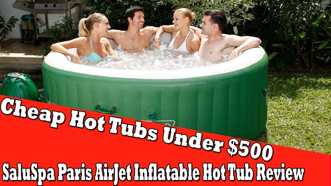 Cheap Hot Tubs Under $500 - Coleman Lay Z Spa Inflatable Hot Tub ...