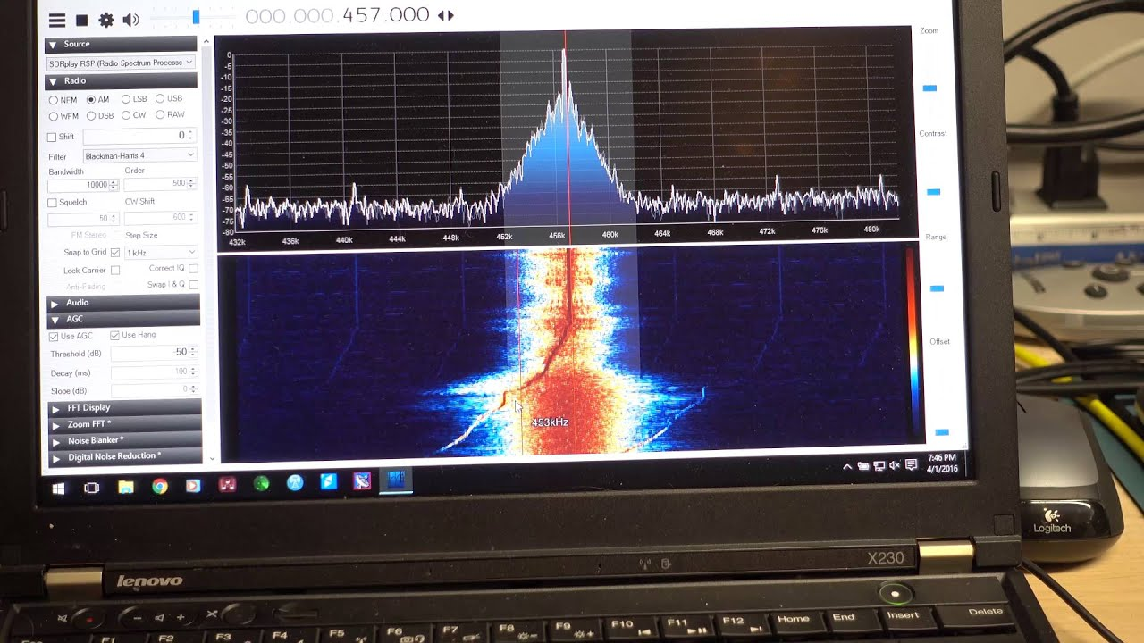 Using SDRPlay as Panadapter for Hammarlund SP-600 - YouTube