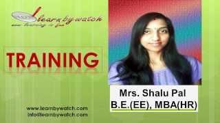 """Training"" by Shalu Pal - MBA HR Video - 2 (Hindi / Urdu)"