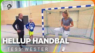 Hellup Handbal met Tess Wester | ZAPPSPORT