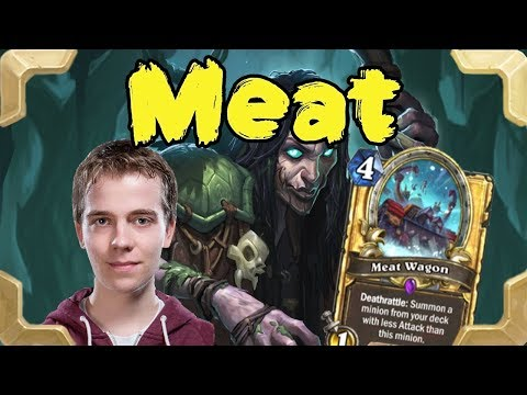 Thijs is playing Meat wagon warlock (Rastakhan's Rumble)