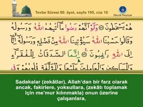 Fatih Çollak - 195.Sayfa - Tevbe Suresi (55-61)