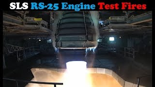 NASA Test Fires RS-25 Engine For Space Launch System (SLS)