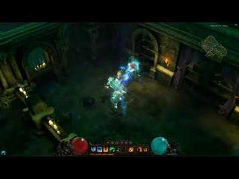 Diablo Iii Gameplay Trailer Hd 1 2 Youtube