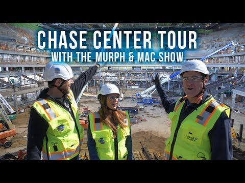Chase Center Exclusive Tour 2018