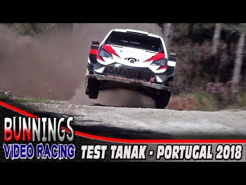 TEST OTT TANAK - WRC Rally Portugal 2018 | @BunningsVideo