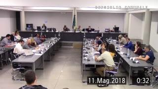 Consiglio Comunale del 10/05/2018