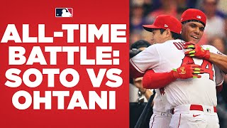 DOUBLE OVERTIME SWING-OFF! Juan Soto and Shohei Ohtani put on a Home Run Derby BATTLE FOR THE AGES!
