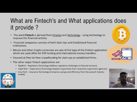 How Bitcoin and other fintech will change financial services
